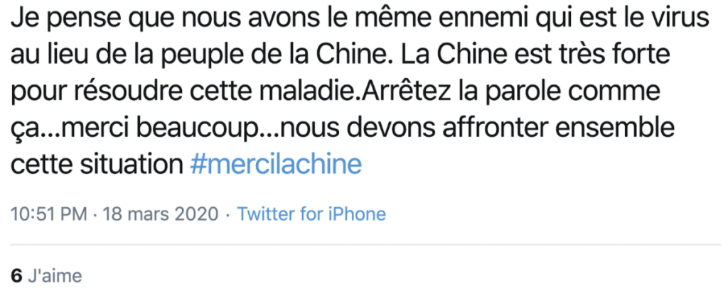 covid-19-relations-publiques-influence-astroturfing tweet 3