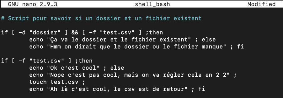 exemple script bash
