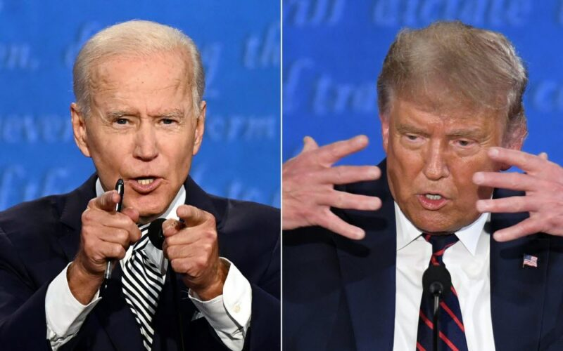 débat trump biden