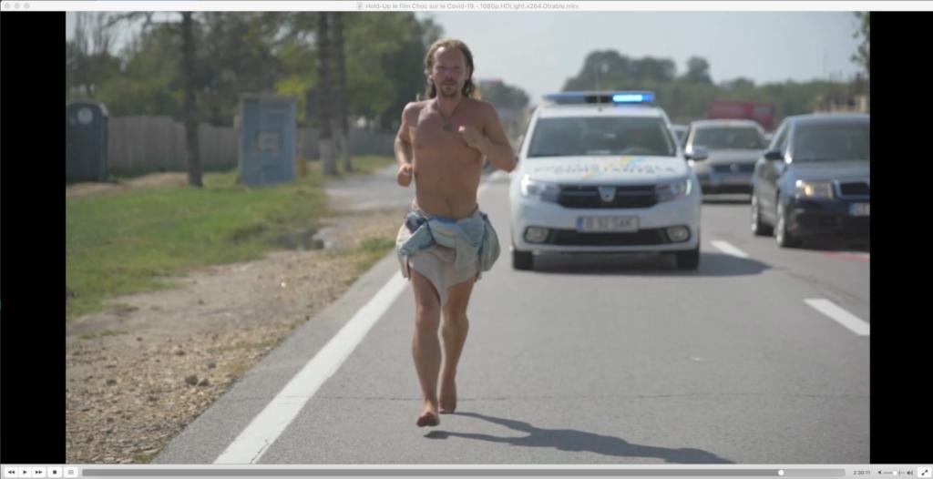 Figure 3: Florian Gomet, durant sa traversée de l'Europe après le premier confinement du printemps